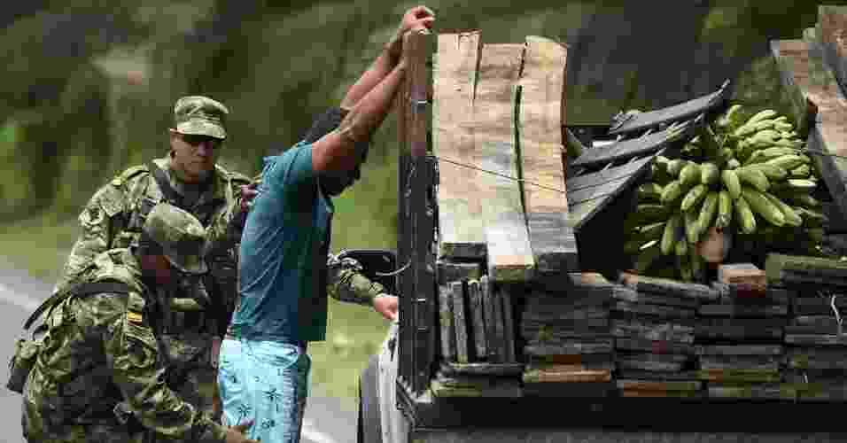AFP PHOTO / Raul ARBOLEDA