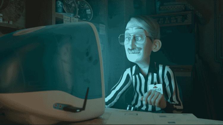 Cena do filme da Disney 'WiFi Ralph' que mostra um computador da Apple - Divulgação/Walt Disney