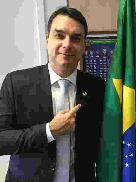 Flavio Bolsonaro no Congresso Nacional - Reprodução/Instagram Flávio Bolsonaro