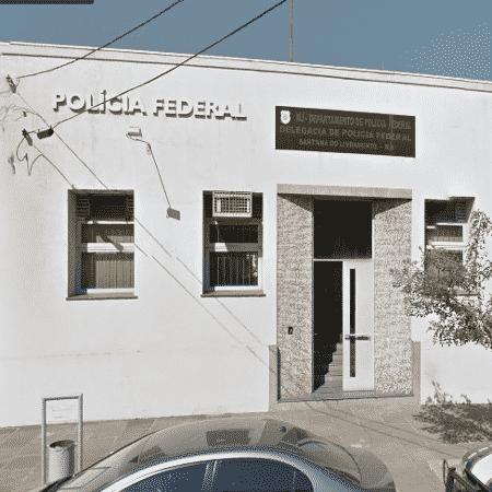 Unidade da Polícia Federal em Santana do Livramento (RS) - Reprodução/Google Street View