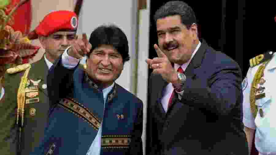 Tanto Evo Morales como Nicolás Maduro são líderes socialistas, mas o resultado de suas políticas econômicas difere bastante - Getty Images