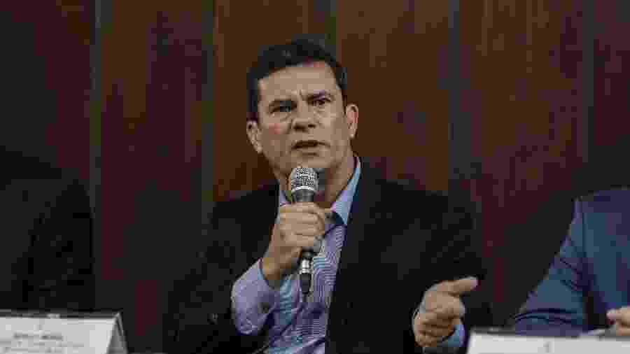 O ministro Sérgio Moro - Jarbas Oliveira/Estadão Conteúdo