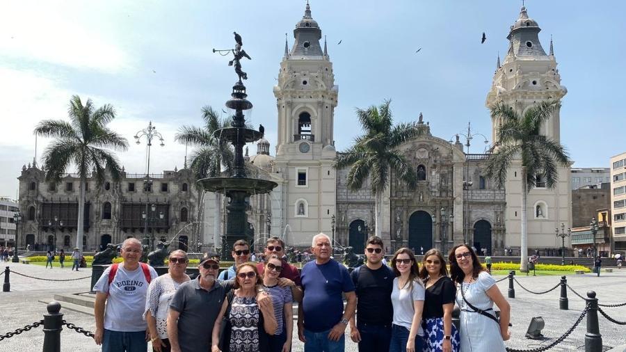 Turistas brasileiros que estavam presos no Peru começam a embarcar - Arquivo pessoal