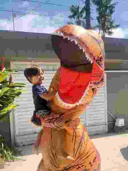 Dinossauro - Arquivo pessoal - Arquivo pessoal