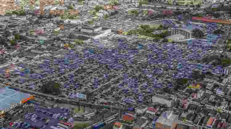 Imagem aérea mostra como era a Sulanca de Caruaru antes do coronavírus - Rafael Lima/Acic Caruaru - Rafael Lima/Acic Caruaru