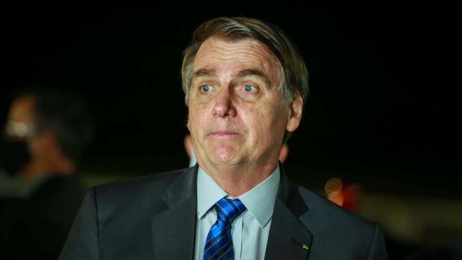 O presidente Jair Bolsonaro declarou torcida por Trump na eleição de novembro - CLÁUDIO MARQUES/FUTURA PRESS/FUTURA PRESS/ESTADÃO CONTEÚDO