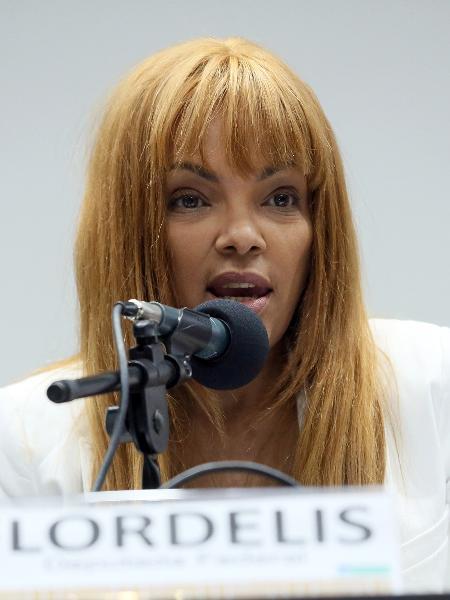 A deputada federal Flordelis é acusada de mandar matar o próprio marido - Cláudio Andrade/Câmara dos Deputados