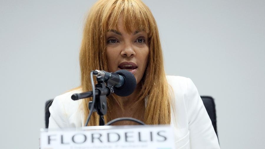 A deputada federal Flordelis (PSD) nega ter cometido algum crime - Cláudio Andrade/Câmara dos Deputados