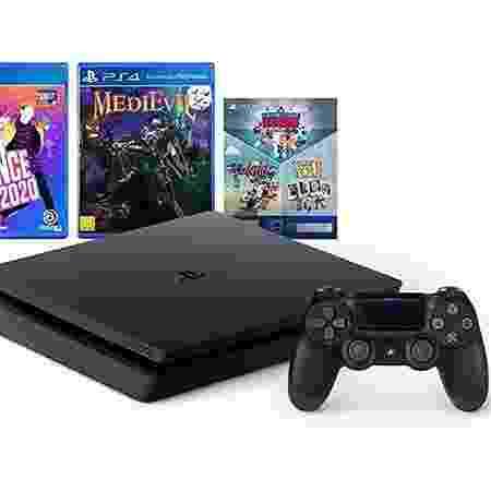 Console 3 jogos + PlayStation 4 1TB - PlayStation - Divulgação - Divulgação