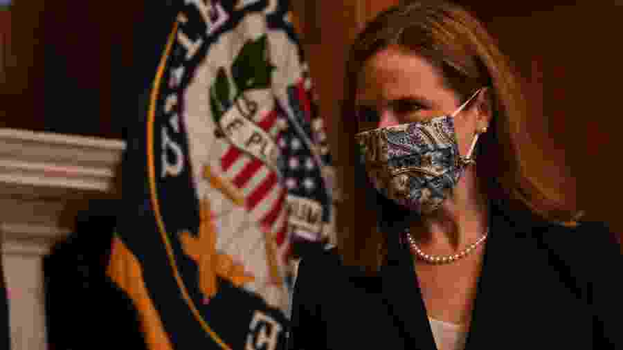 Amy Coney Barrett, juíza da Suprema Corte dos Estados Unidos - Getty Images