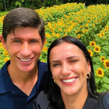 Eduardo Leal Neto e a irmã Soliane Luiza Costa - Reprodução/Facebook