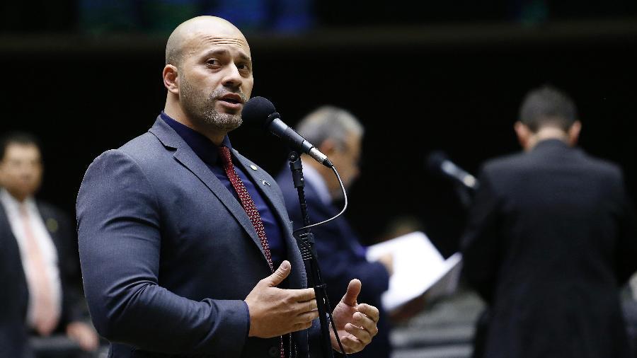 30.out.2019 - O deputado federal Daniel Silveira (PSL-RJ), preso em 16/02/2021 após ataques a ministros do STF - DIDA SAMPAIO/ESTADÃO CONTEÚDO
