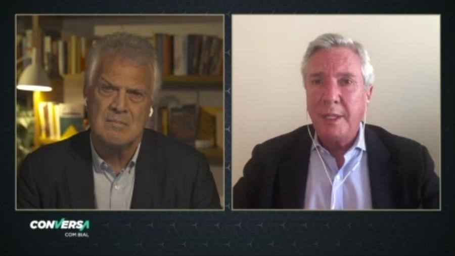Fernando Collor de Melo é entrevistado no Conversa com o Bial - Reprodução/Vídeo