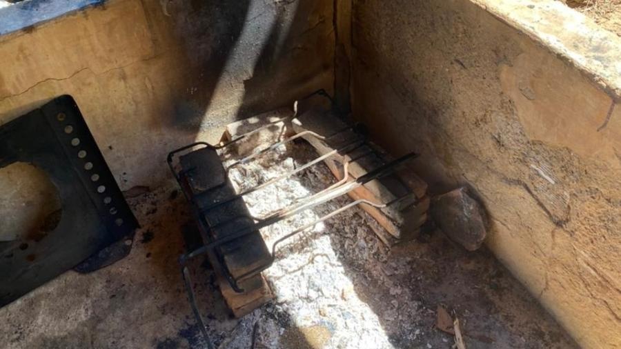 Local onde os trabalhadores foram encontrados em situação análoga à escravidão, no Triângulo Mineiro - Crédito: Divulgação/MPT MG