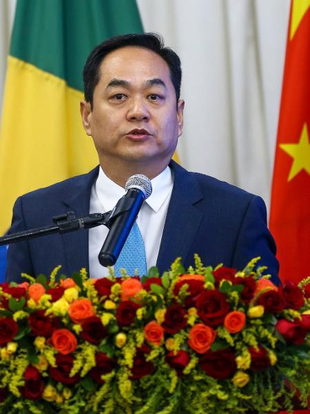 Brasília: O embaixador da China, Yang Wanming, durante o Fórum de Think Tanks China-Brasil - Marcelo Camargo/Agência Brasil
