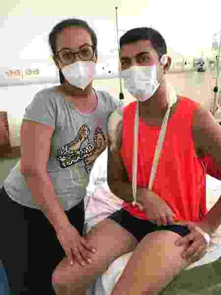 Metalúrgico baleado em assalto a bancos em Araçatuba recebe alta hospitalar - Reprodução/Facebook - Reprodução/Facebook