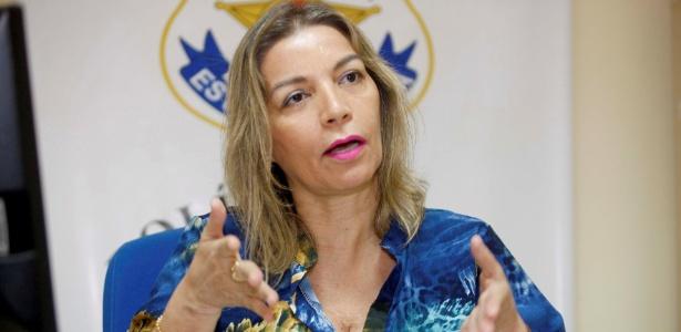 """A delegada-titular Rosângela Gouvêa: """"O Pará está em estado de barbárie"""" - Divulgação/Claudio Santos/Agência Pará"""