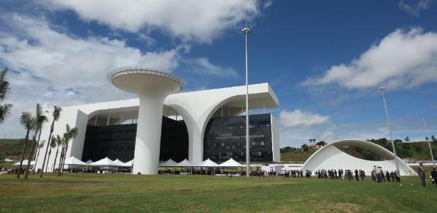 4.mar.2010 - Inauguração da Cidade Administrativa Presidente Tancredo Neves, em Belo Horizonte - Alex de Jesus/O Tempo