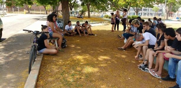 10.nov.2016 - Ocupação na UFG (Universidade Federal do Goiás)