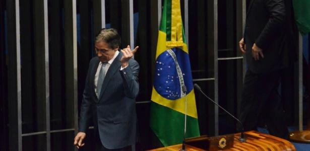 Eunício Oliveira (PMDB-CE), presidente do Senado