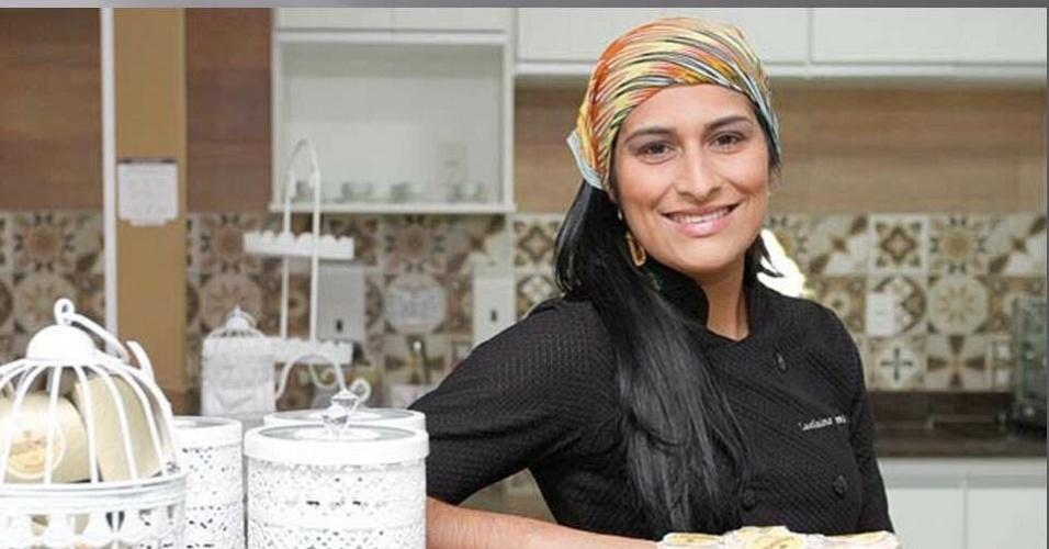 Lucilaine Lima é dona do Instituto Gourmet, escola de gastronomia que virou franquia em janeiro deste ano