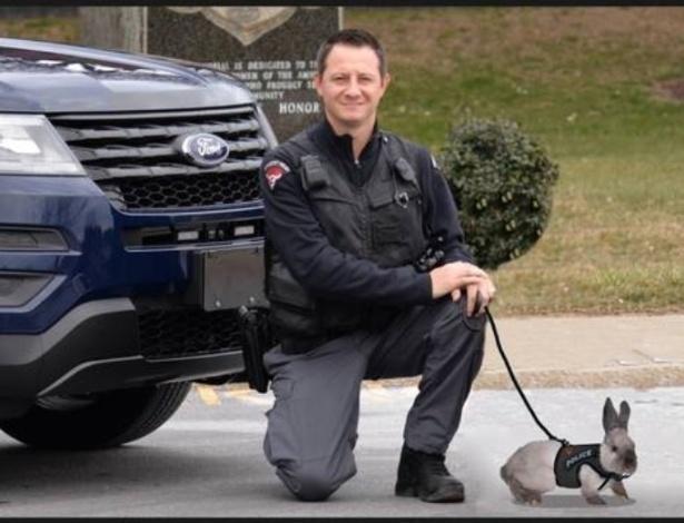 O candidato a prefeito acreditou em uma foto montagem de brincadeira feita em 1° de Abril em uma página policial do Facebook