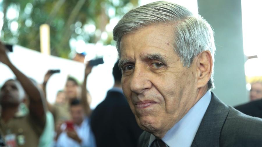 O general Augusto Heleno, futuro ministro-chefe do GSI (Gabinete da Segurança Institucional) - Antonio Cruz/Agência Brasil