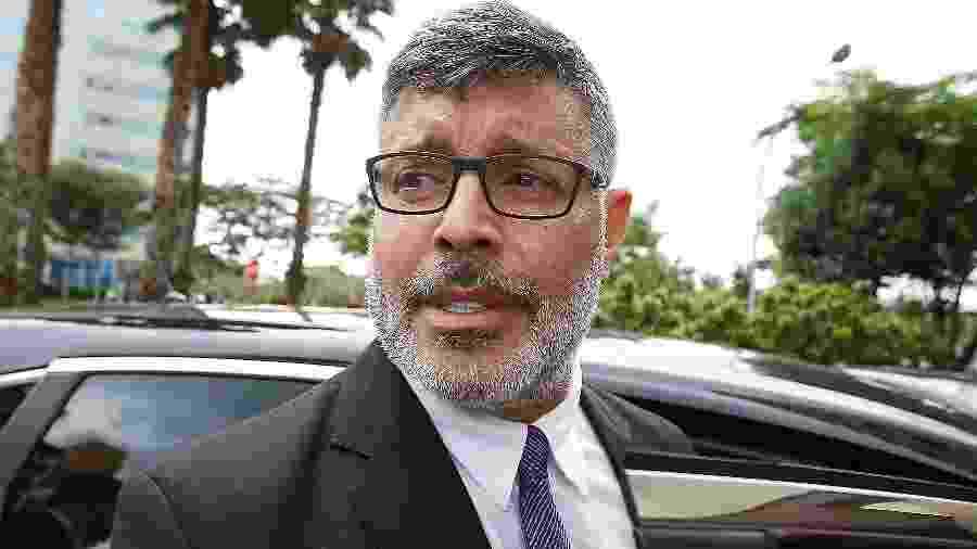 Alexandre Frota, deputado eleito pelo PSL-SP, durante reunião do partido - 21.nov.2018 - Dida Sampaio/Estadão Conteúdo