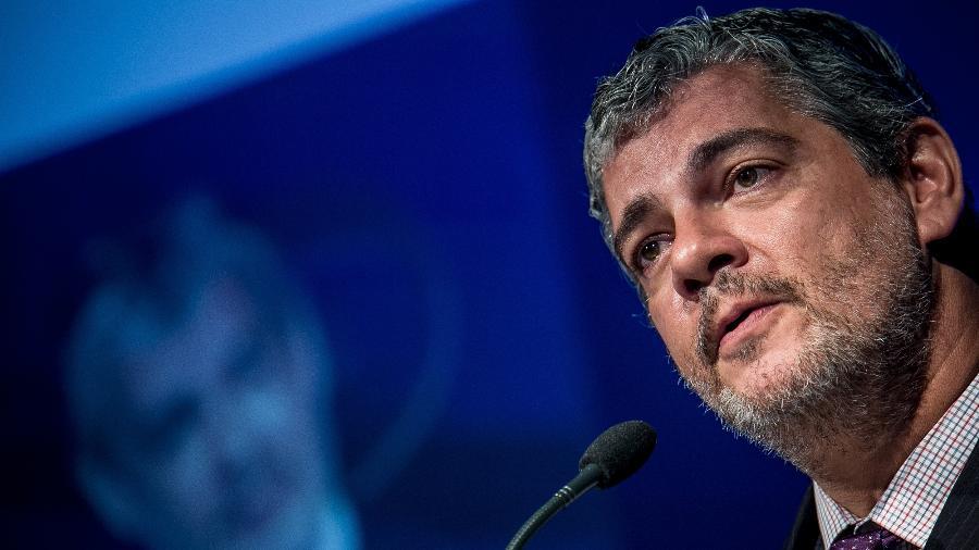 Ex-secretário de Assuntos Internacionais do Ministério da Economia, Marcos Troyjo agora está na presidência do Banco dos Brics - Keiny Andrade/Folhapress