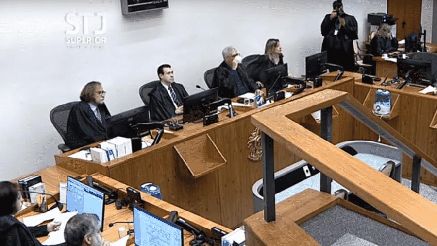 Julgamento no STJ sobre acusados pelo incêndio na boate Kiss  - Reprodução - 18.jun.2019/STJ