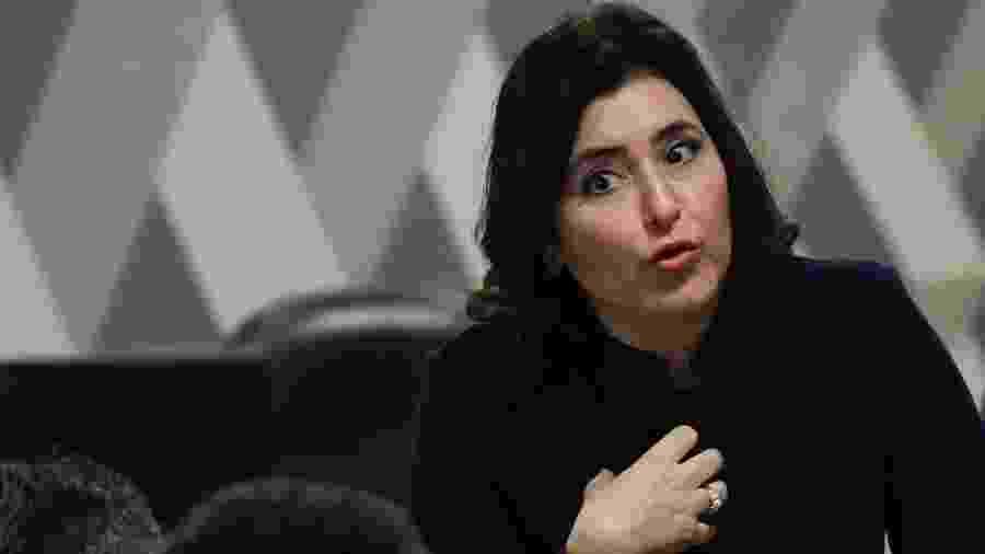 A presidente da CCJ do Senado, Simone Tebet (MDB-MS) - Mateus Bonomi/Agif/Estadão Conteúdo