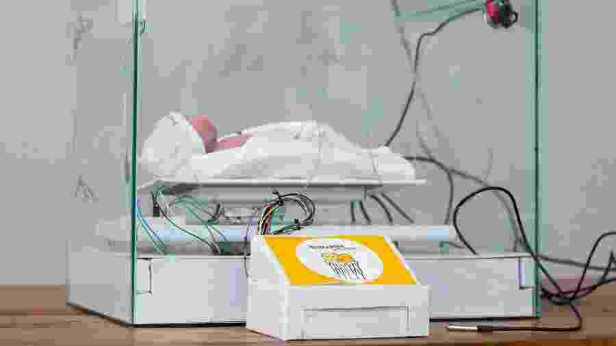 Protótipo de incubadora multissensorial ganhou prêmio em simpósio de computação aplicada à saúde - Divulgação/PUC Poços de Caldas