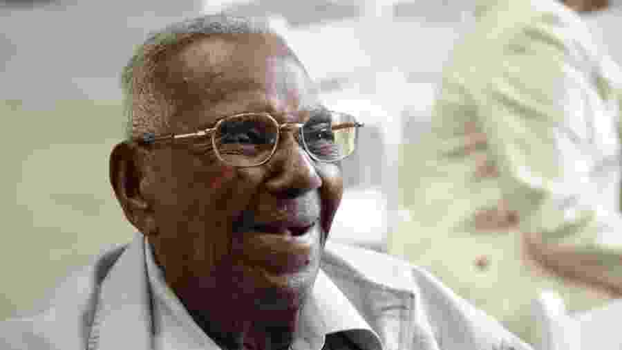 Lawrence Brooks tem 110 anos e é o mais velho a estar vivo entre os veteranos que defenderam os Estados Unidos na Segunda Guerra Mundial (1939-1945) - Divulgação/National WWII Museum
