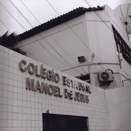 Colégio Estadual Manoel de Jesus, em Simões Filho (BA) - Reprodução