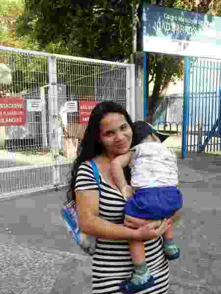 Ana Carolaine Assunção buscou consulta médica e não conseguiu em centro em Copacabana - Pauline Almeida/UOL