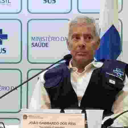 """João Gabbardo dos Reis disse que não há como esperar um """"momento ótimo"""" em todo o Brasil para adotar algumas medidas de flexibilização - Reprodução"""