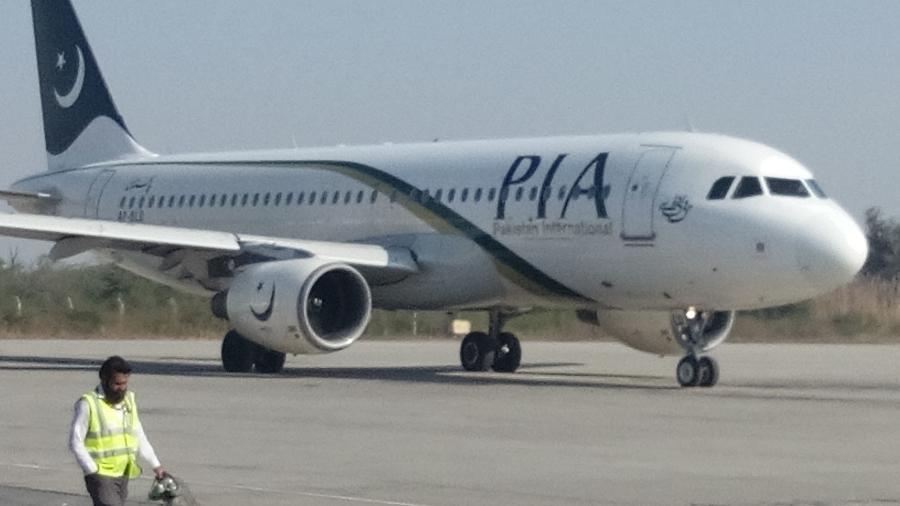 Avião da Pakistan International Airlines - Divulgação