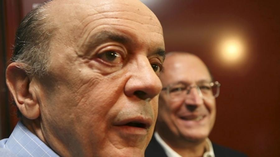 O senador José Serra e o ex-governador de São Paulo, Geraldo Alckmin, ambos do PSDB - Silvia Zamboni/Folha Imagem
