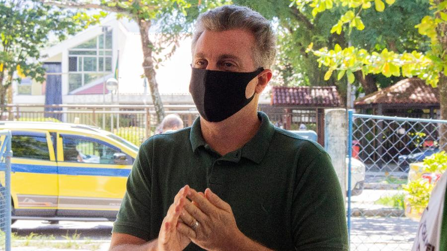 Luciano Huck declarou voto em Eduardo Paes (DEM) no segundo turno no Rio de Janeiro - BEATRIZ ORLE/FUTURA PRESS/ESTADÃO CONTEÚDO