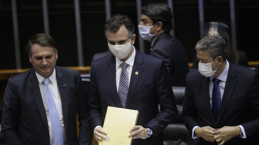 Bolsonaro participou da sessão de abertura do Congresso - DIDA SAMPAIO/ESTADÃO CONTEÚDO