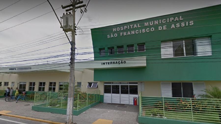 Criança deu entrada no Hospital Municipal São Francisco de Assis, no RJ, em estado grave - Reprodução/Google Street View