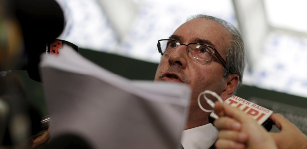 O pedido de impeachment da presidente Dilma Rousseff foi acatado nesta quarta pelo presidente da Câmara, Eduardo Cunha (PMDB-RJ) - Ueslei Marcelino/Reuters