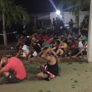 Frequentadores de festa com drogas na Bahia presos pela PM