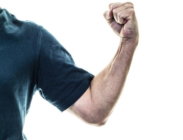 Esse músculo salta no seu braço?
