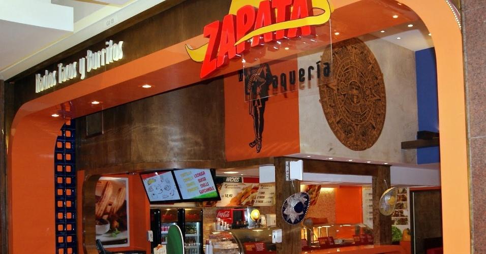 Loja da franquia Zapata Mexican