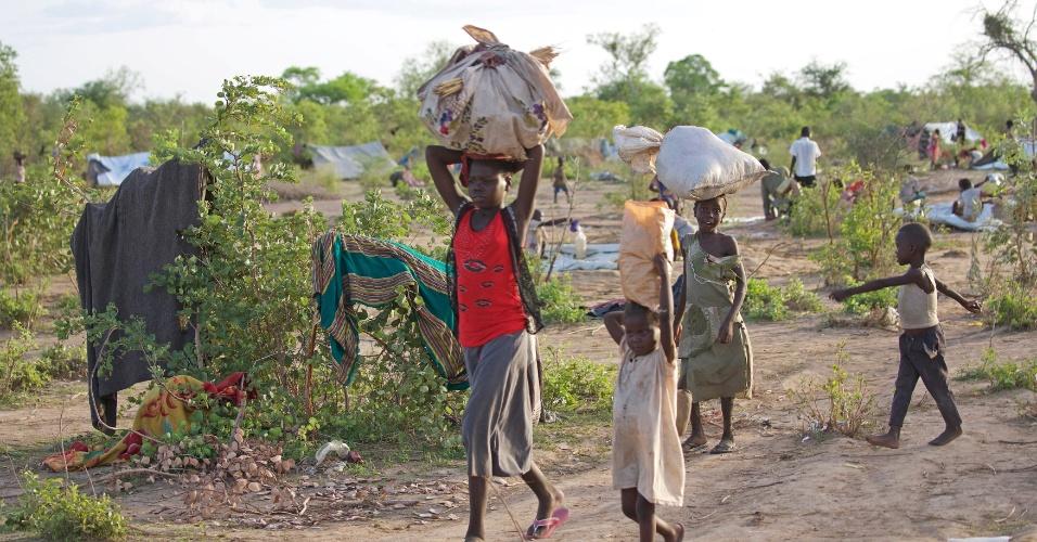 Refugiados no Sudão do Sul