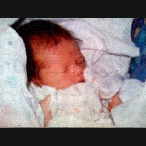 Foto da bebê Sophie, filha do empresário francês Philippe Kahn, completa 20 anos - Philippe Kahn/Divulgação