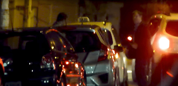 Loures embarca com mala de dinheiro em táxi em São Paulo
