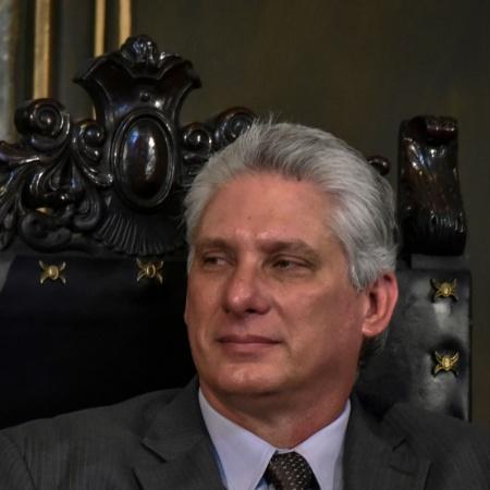 Miguel Diaz-Canel, 1° presidente civil após a Revolução Cubana, em 1959 - Adalberto Roque/AFP
