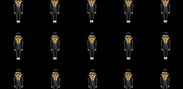 O emoji do homem de terno flutuando tem raízes num disco com Bob Marley